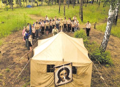 Фото с 44-х Курсов начальников единиц ОРЮР, проходивших с 1 по 10 июля под Костромой.