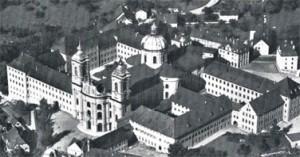 Монастырь в городе Ваингартен, в котором был устроен лазарет