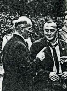 Руководитель торжеств – полковник К.Г. Кромиади и Б.Б. Мартино